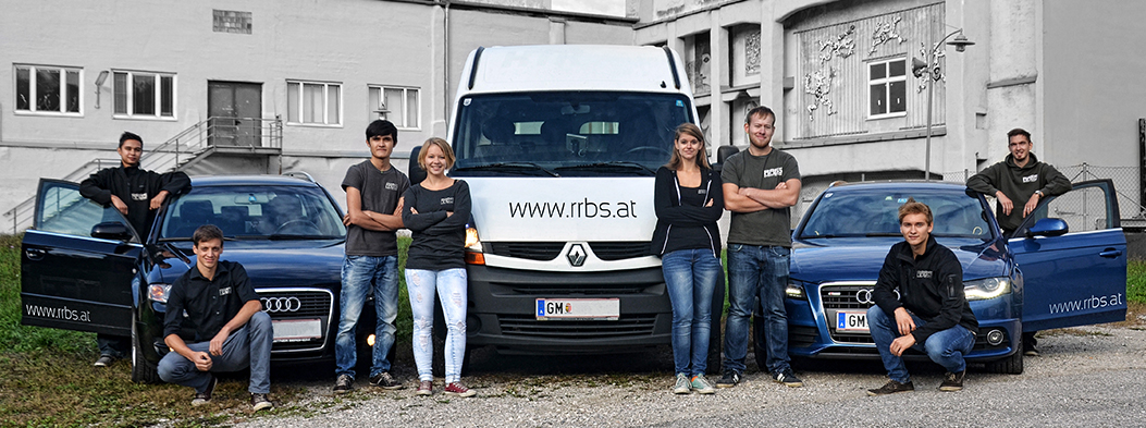RRBS Eventtechnik - Team